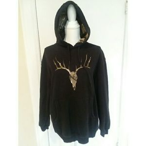 Magellan Hoodie Pullover Sweatshirt Deer Camo